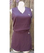 Fila Navy 2 Pcs Cotton Tennis Fitness Outfit S-M - $15.00
