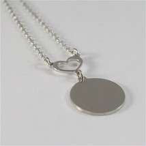 925 RHODIUM SILVER NECKLACE FOOTPRINT OF A PAW AND MOTHER OF PEARL image 4