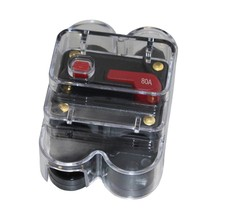 APS 80A Car Audio Inline Circuit Breaker Fuse for 12V Protection waterproof - $13.09
