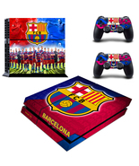 PS4 Console Skin Barcelona FCB Football Vinyl D... - $12.00