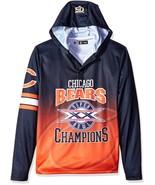 Klew Men's NFL Chicago Bears Super Bowl XX Champions Hoody T-Shirt - $19.95