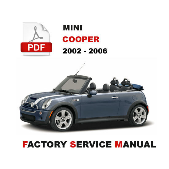 mini cooper repair manual pdf