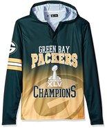 Klew Men's NFL Green Bay Packers Super Bowl XLV Champions Hoody T-Shirt - $19.95