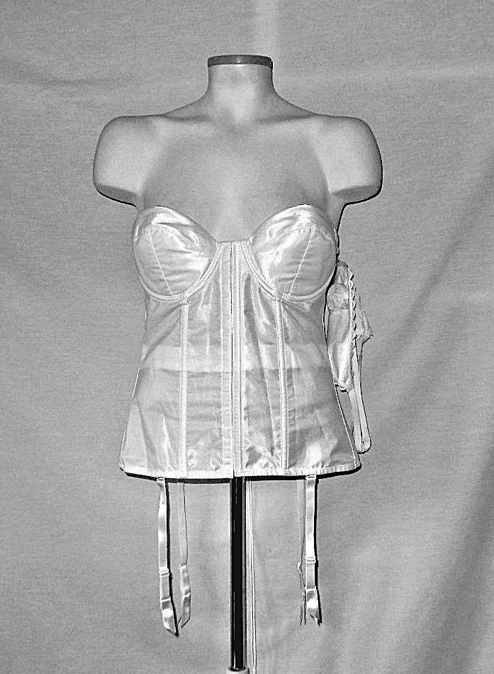 3a63c2ee46 NWT Frederick s Hollywood White Satin Bridal and 50 similar items