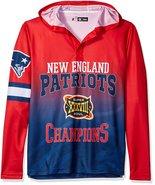 Klew Men's NFL New England Patriots Super Bowl XXXVIII Champions Hoody T... - $19.95