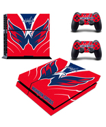 PS4 Console Skin NHL Washington Capitals Decals... - $12.00