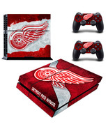 PS4 Console Skin NHL Detroits Red Wings VInyl D... - $12.00