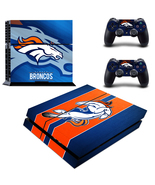 PS4 Console Skin NFL Denver Broncos VInyl Decal... - $12.00