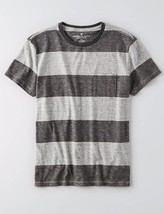 American Eagle Outfitters AEO Stripe Crew T-Shirt Tee - $12.50