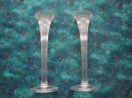 Waterford Crystal-Marquis Collection-Set of 2 Candle Holders-Mint Condition - $39.55