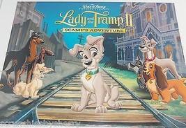 Walt Disney Lady Tramp II Lithographs Art Classic Lithographs Sealed Lot... - $59.95
