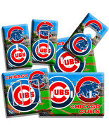 CHICAGO CUBS MLB BASEBALL TEAM LOGO LIGHT SWITC... - $8.99 - $19.79