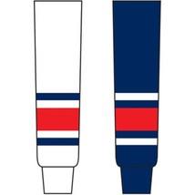 Columbus Blue Jackets Colors Knit Hockey Socks -TRON X SK200 Nhl Team Colors - $22.12