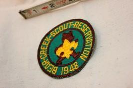 Vintage BSA Boy Scout 1948 Bear Creek Scout Reservation Patch - $39.59