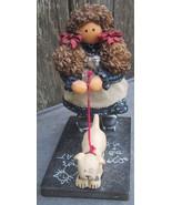 Lizzie High Doll w Barney Figurines by Ladie & Friend - $17.00