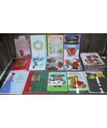 Lot of New Unused Greeting Cards Halloween Christmas - $18.00