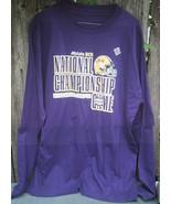 LSU Allstate BCS 2008 National Championship Football Game T-Shirt Long S... - $24.00