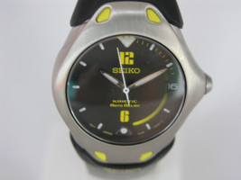Seiko women watches kinetic silver case lumibright hands and markers SMA895P1 - $539.55