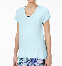 Calvin Klein Performance Burnout T-Shirt, Light Blue, Sz. XXLarge - $19.83
