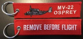 USMC MV-22 Osprey REMOVE BEFORE FLIGHT Key Ring - $9.89