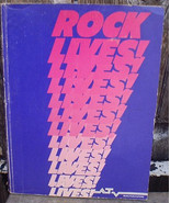 Rock Lives! 1980 Cherry Lane Music Songbook Rock Giants 2 Different Books - $18.00