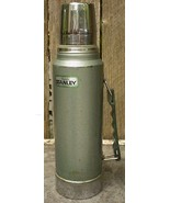 Stanley Aladdin Green Metal Thermos 944DH 1Qt - $18.00