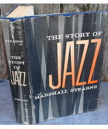 Story of Jazz Marshall Stearns 1956 Music History - $15.00