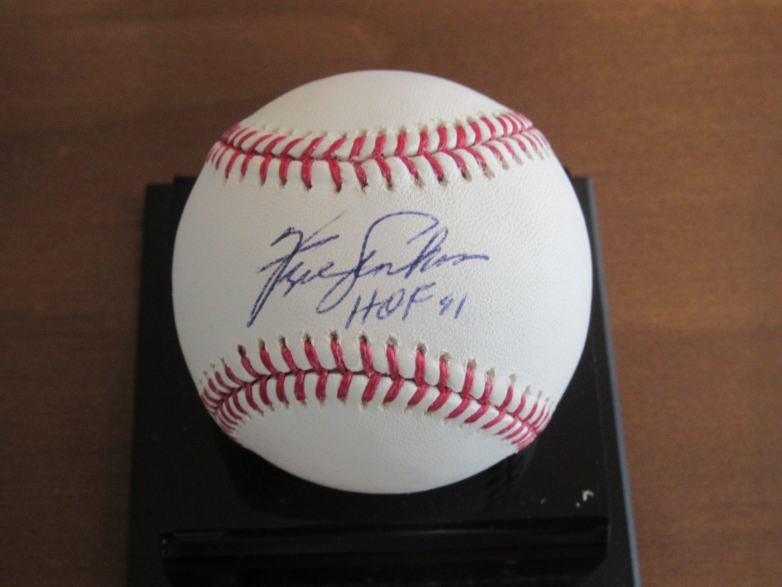 Primary image for FERGIE JENKINS HOF 81 CUBS RANGERS SIGNED AUTO BASEBALL JSA AUTHENTIC