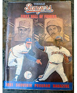 Texas Rangers Baseball First Hall of Famers 1991 Original Souvenir Program - $12.99