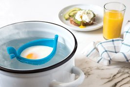 Egg poacher Original Design Gifts breakfast Kitchenware Tools Cups Dinin... - $26.44 CAD