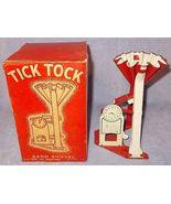 Vintage Tick Tock Sand Shovel Clock Beach Toy with Box - $49.95