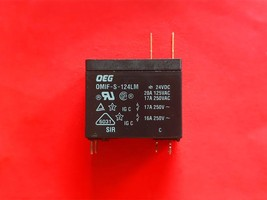 OMIF-S-124LM, 24VDC Relay, Oeg Brand New!! - $4.21
