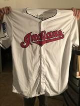 Cleveland Indians Mens Shirt Baseball MLB Size: XL -Jersey Gomes 10 Free... - $14.80