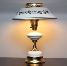 Vintage Metal & Brass French Stenciled Tole War... - $62.00
