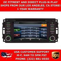 "6"" GPS Navigation Stereo Radio w/ Bluetooth USB DVD for 2008-2011 Jeep C... - $494.99"