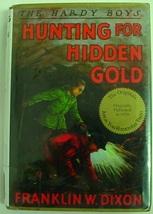 Hardy Boys no.5 Hunting for Hidden Gold hcdj Applewood edition Franklin ... - $8.00