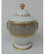 Royale France Elysee Sugar Bowl French Porcelain Ancienne Manufacture Li... - $450.00