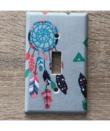 DREAM CATCHER Feather Light Switch Plate Cover outlet wall home decor ki... - $8.30