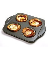 NORPRO 3902 Nonstick Mini Mini Pie Tart Pastries Pan - $333,36 MXN