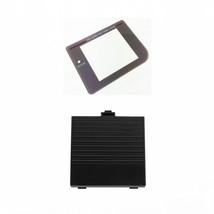 New BLACK Nintendo Game Boy Original DMG-01 Battery Cover + GLASS Screen... - $7.22