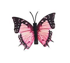Set of 3 Butterfly Hair Pin Fashion Hair Clip Creative Hairpin,3.15'',Pink