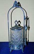 Antique James A Tufts Quadruple Plated Silver C... - $172.93