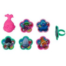 Trolls True Colors Cupcake Rings - 12 Count - $3.91