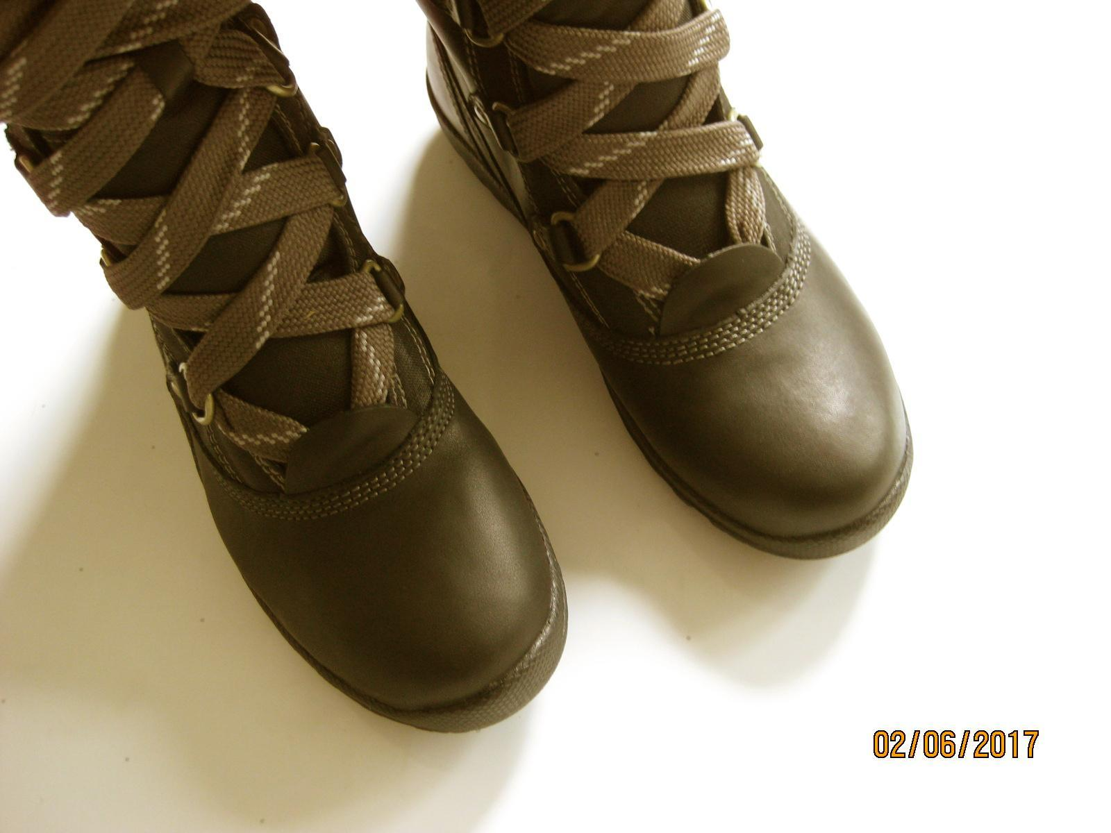 Timberland Ek Mount Hope Leather and Fabric Waterproof
