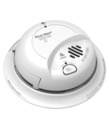 First Alert BRK SC-9120B Hardwire Combination Smoke/Carbon Monoxide Alarm with B - $35.56