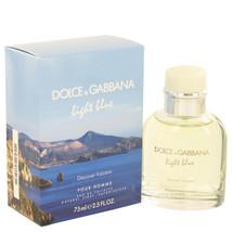 Light Blue Discover Vulcano by Dolce & Gabbana Eau De Toilette Spray 2.5 oz - $50.95