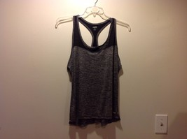 AVIA Dark Gray Heathered Racerback Tank Top Sz XL