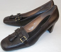 Etienne Aigner Newsome Womens US 8.5 M Brown Le... - $37.15