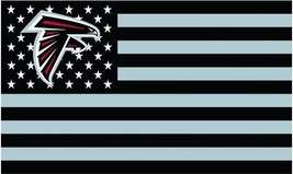 NFL Atlanta Falcons Stars & Stripes 3'x5' Indoor/Outdoor Team Nation Fla... - $9.99