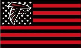 NFL Atlanta Falcons Stars & Stripes 3'x5' Indoor/Outdoor Team Nation Fla... - $9.99